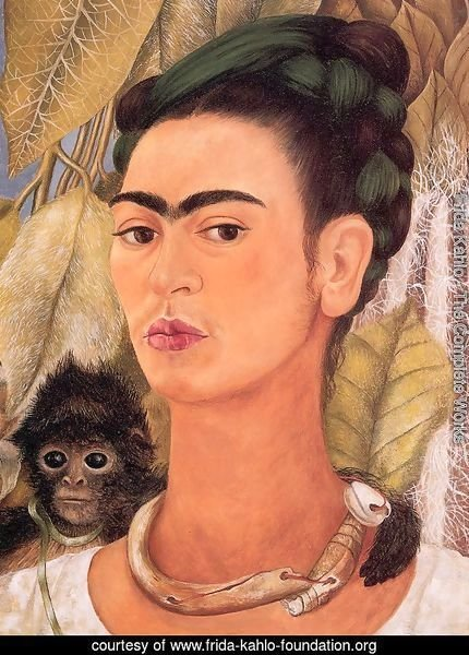 Self Portrait with Monkey