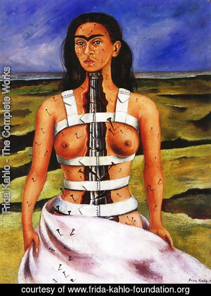 Frida Kahlo - The Broken Column