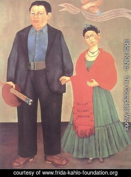 Frida Kahlo - Frida and Diego