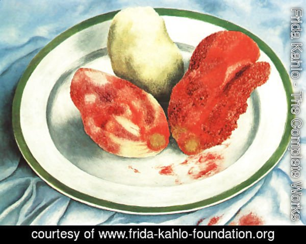 Frida Kahlo - Cactus Fruits 1938 Private Collection