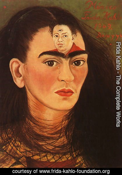 Frida Kahlo - Diego And I 1949