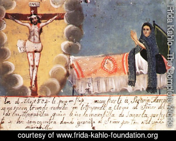 Frida Kahlo - Ex Voto In Kahlos Collection
