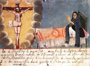 Ex Voto In Kahlos Collection