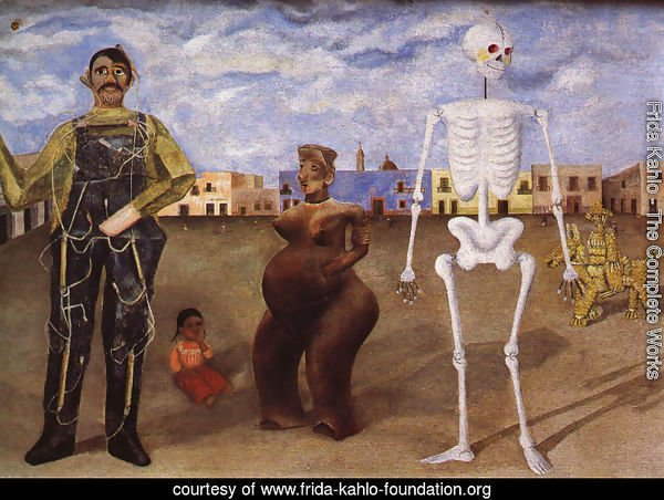 Four Inhabitants Of Mexico City 1938