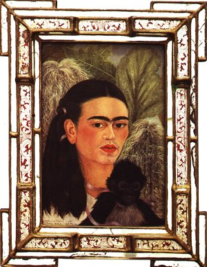 Frida Kahlo - Fulang Chang And I 1937