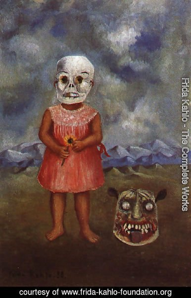 Frida Kahlo - Girl With Death Mask 1 1938