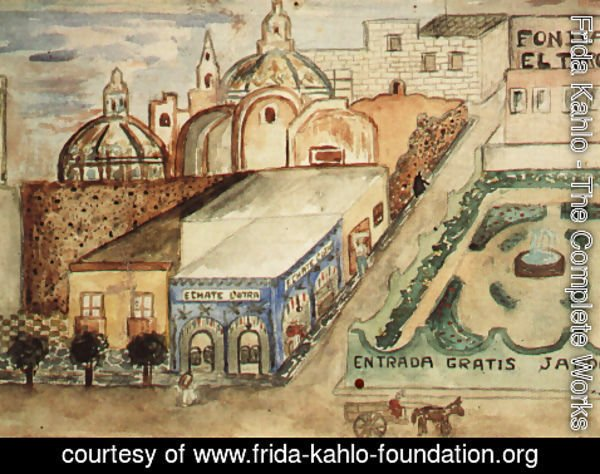 Frida Kahlo - Have Another One 1925