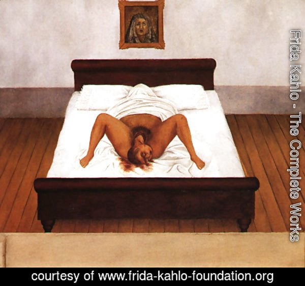 Frida Kahlo - My Birth 1932