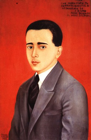 Frida Kahlo - Portrait Of Alejandro Comez Arias 1928
