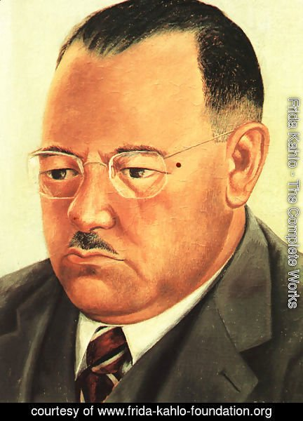 Frida Kahlo - Portrait Of Engineer Marte R Gomez 1944