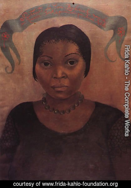 Frida Kahlo - Portrait Of Eve Frederick 1931
