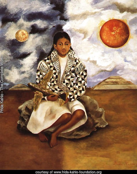 Portrait Of Lucha Maria Girl From Tehuacan 1942