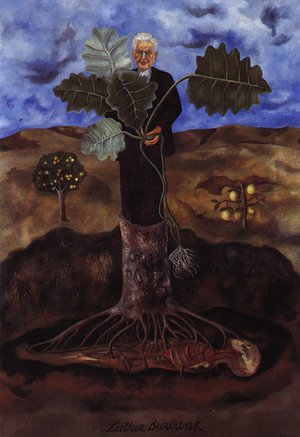 Frida Kahlo - Portrait Of Luther Burbank 1931