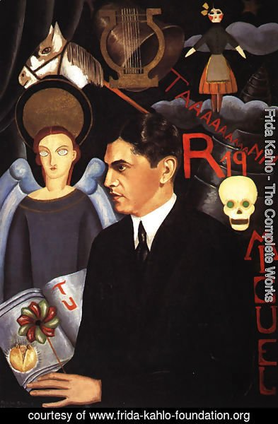 Frida Kahlo - Portrait Of Miguel N Lira 1927
