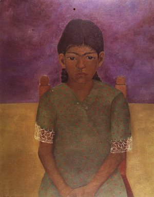 Frida Kahlo - Portrait Of Virginia 1929