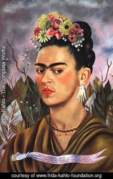 Frida Kahlo - Self Portrait Dedicated To Dr Eloesser 1940