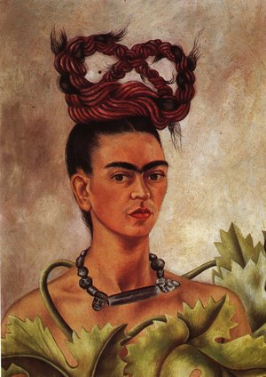 Frida Kahlo - Self Portrait With Braid 1941