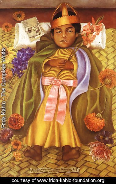 Frida Kahlo - The Deceased Dimas Rosas Aged Three 1937