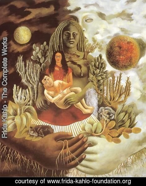 Frida Kahlo - Love's Embrace of the Universe, Earth