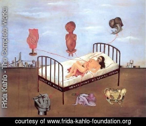 Frida Kahlo - Ford Hospital