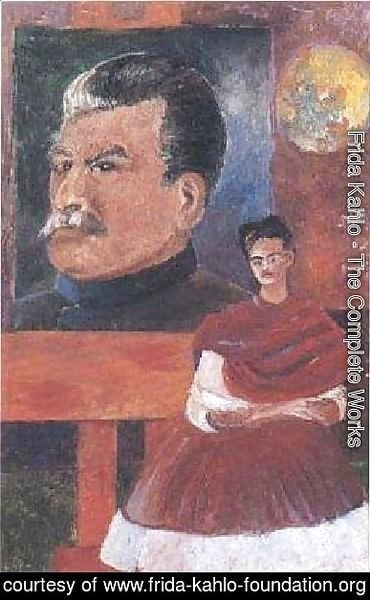 Frida Kahlo - Frieda And Stalin