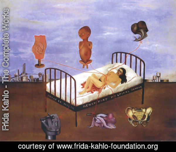 Frida Kahlo - Henry Ford Hospital