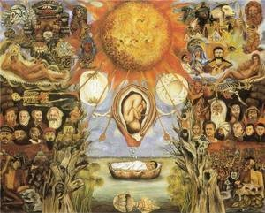 Frida Kahlo - Moses Nucleus Of Creation