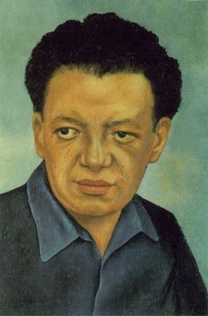 Frida Kahlo - Portrait Of Diego Rivera