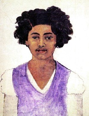 Frida Kahlo - Self Portrait 1922