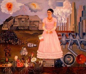 Frida Kahlo - Self Portrait 1932