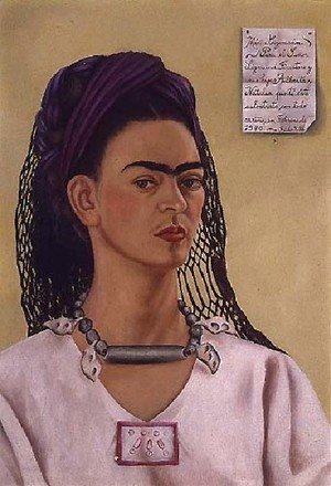 Frida Kahlo - Self Portrait 1940 II