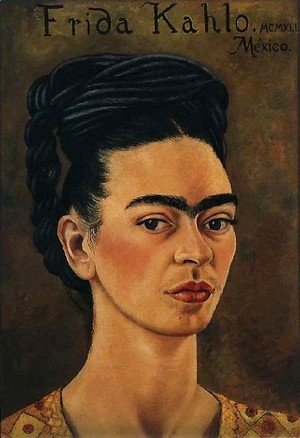 Frida Kahlo - Self Portrait 1941