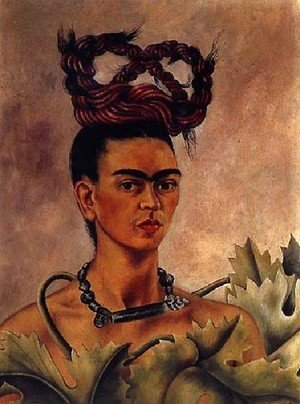 Frida Kahlo - Self Portrait 1941 2