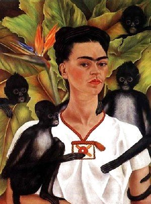 Frida Kahlo - Self Portrait 1943