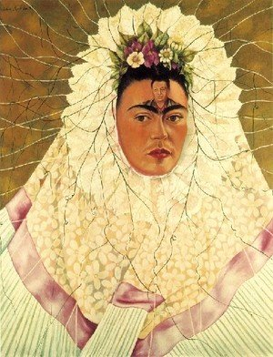 Frida Kahlo - Self Portrait As A Tehuana Diego On My Mind