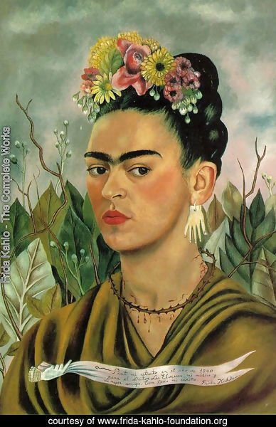Frida Kahlo - The Complete Works - Self Portrait II
