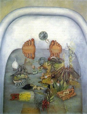 Frida Kahlo - What The Water Gave Me